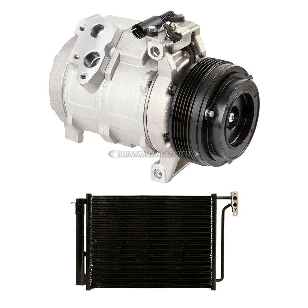 For Honda Accord 2003-2007 AC Compressor w// A//C Condenser /& Drier DAC