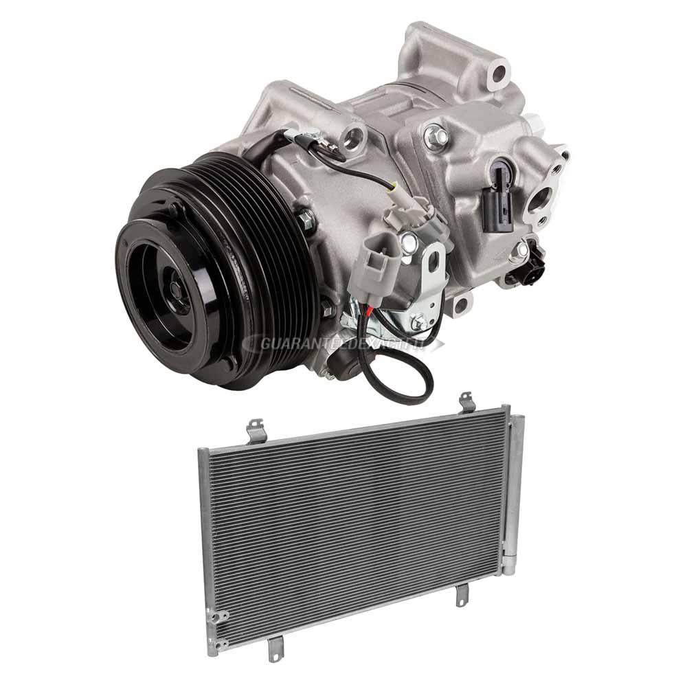 New Premium Line A//C Condenser for Toyota Camry Venza Lexus ES350 Avalon