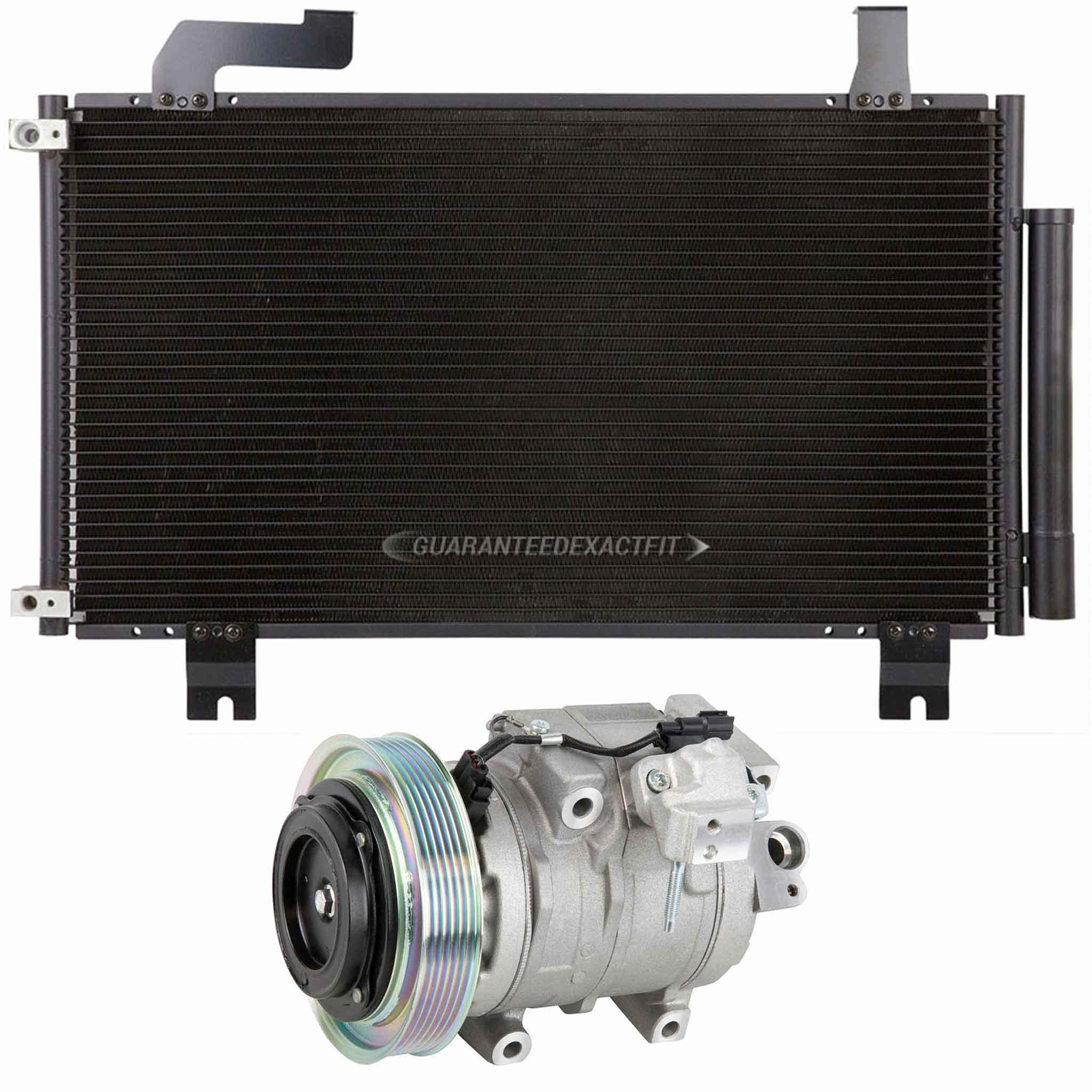 2011 Acura TSX A/C Compressor And Components Kit 3.5L