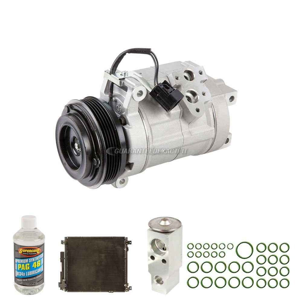 A/C Kit W/ AC Compressor Condenser & Drier For Cadillac