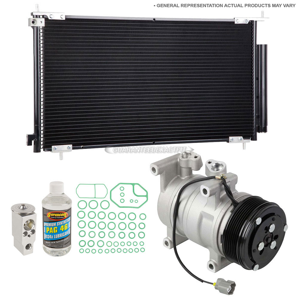 nissan NV200 A/C Compressor and Components Kit