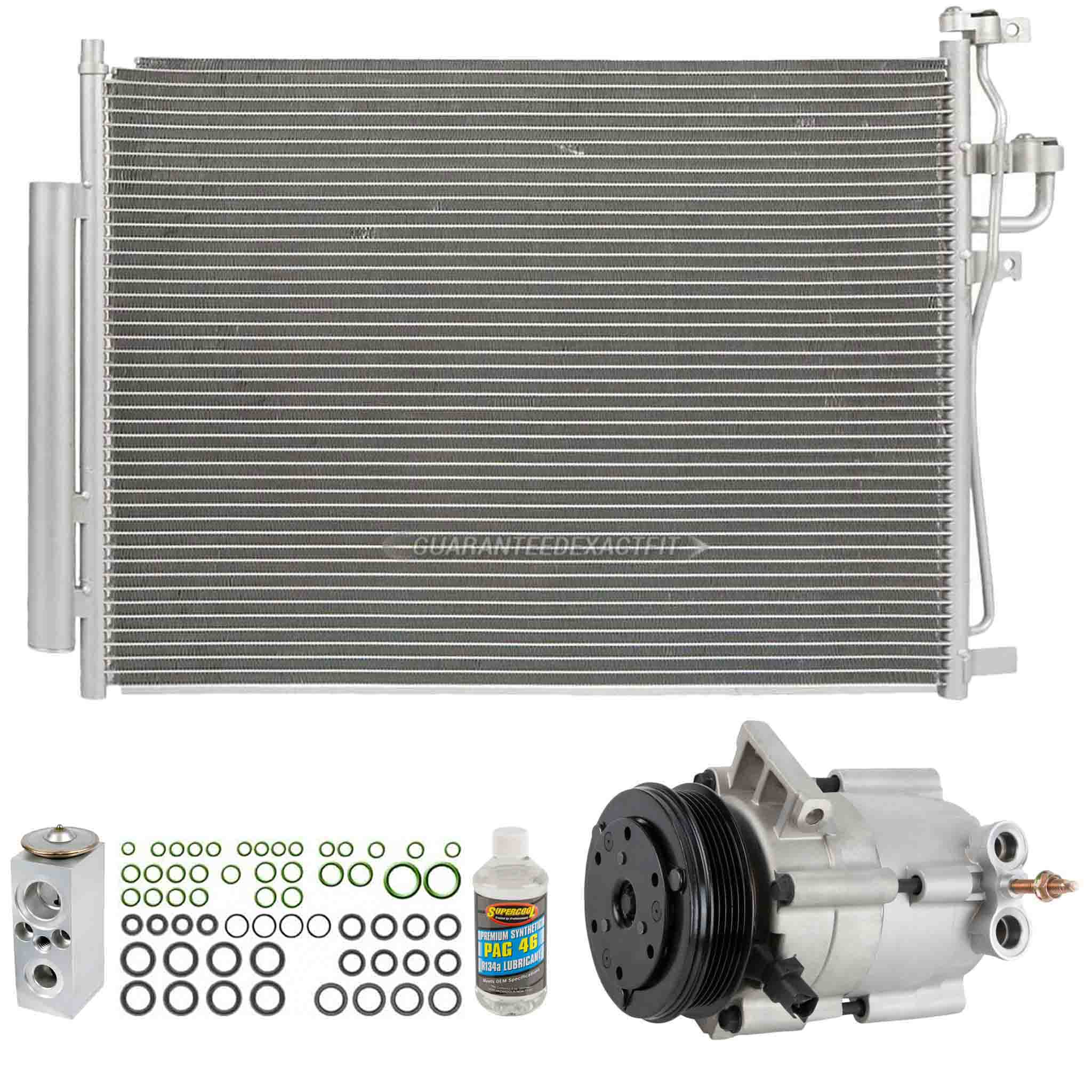 BuyAutoParts 61-94095R6 A/C Compressor and Components Kit