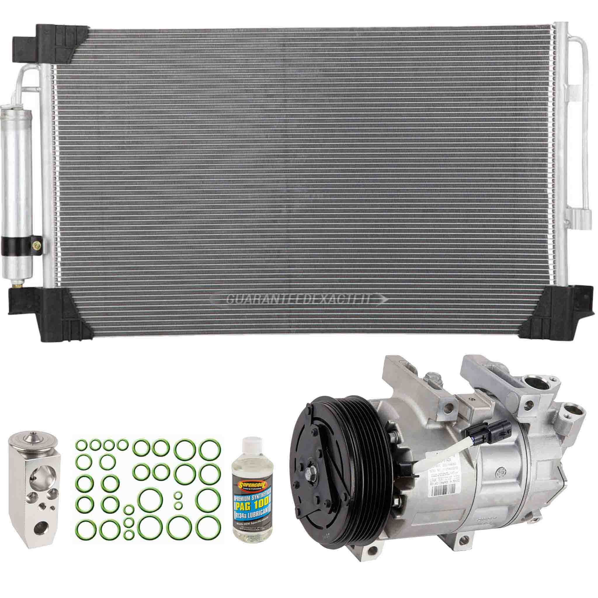 BuyAutoParts 61-94117R6 A/C Compressor and Components Kit
