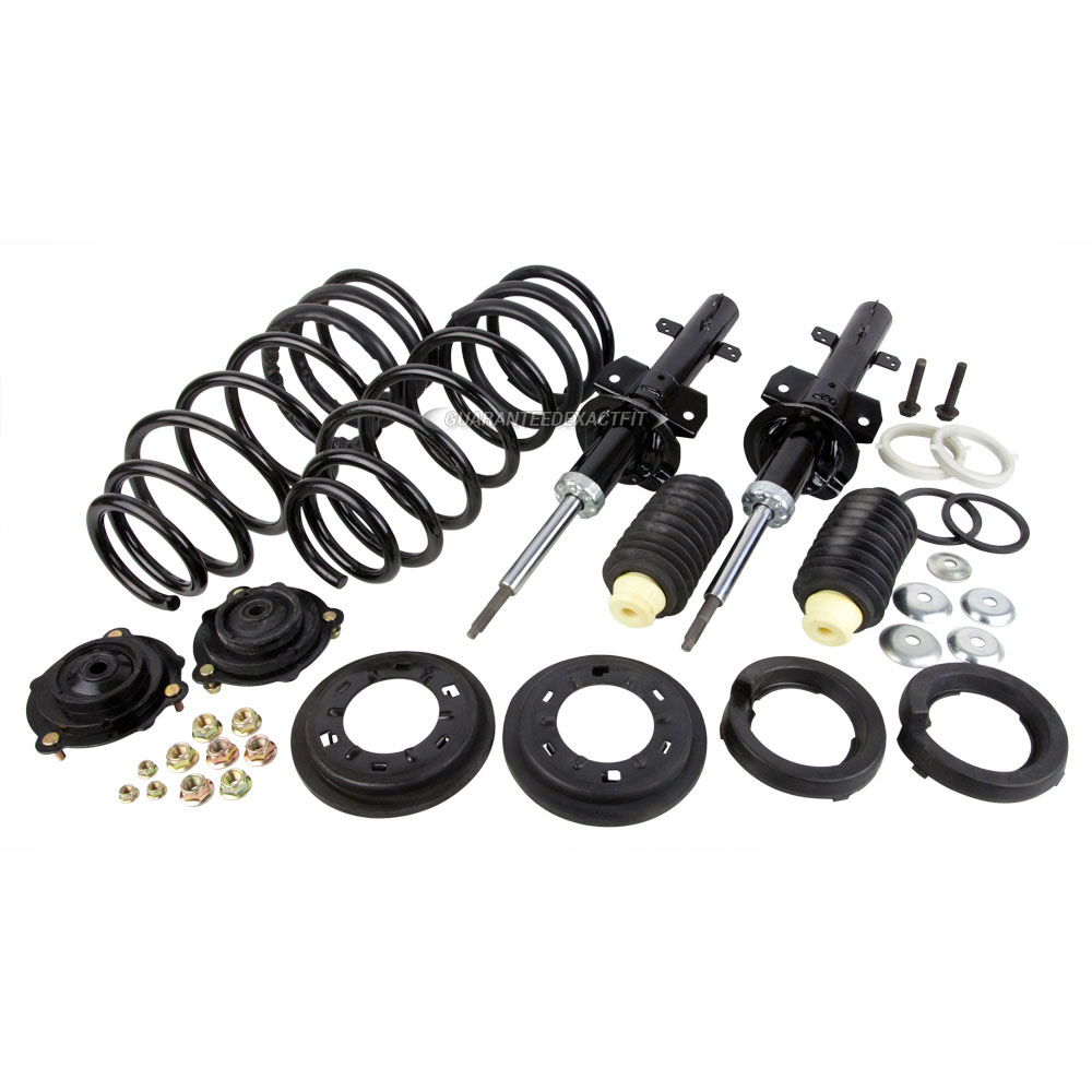 1988 lincoln continental coil spring conversion kit front suspension includes struts and coil. Black Bedroom Furniture Sets. Home Design Ideas