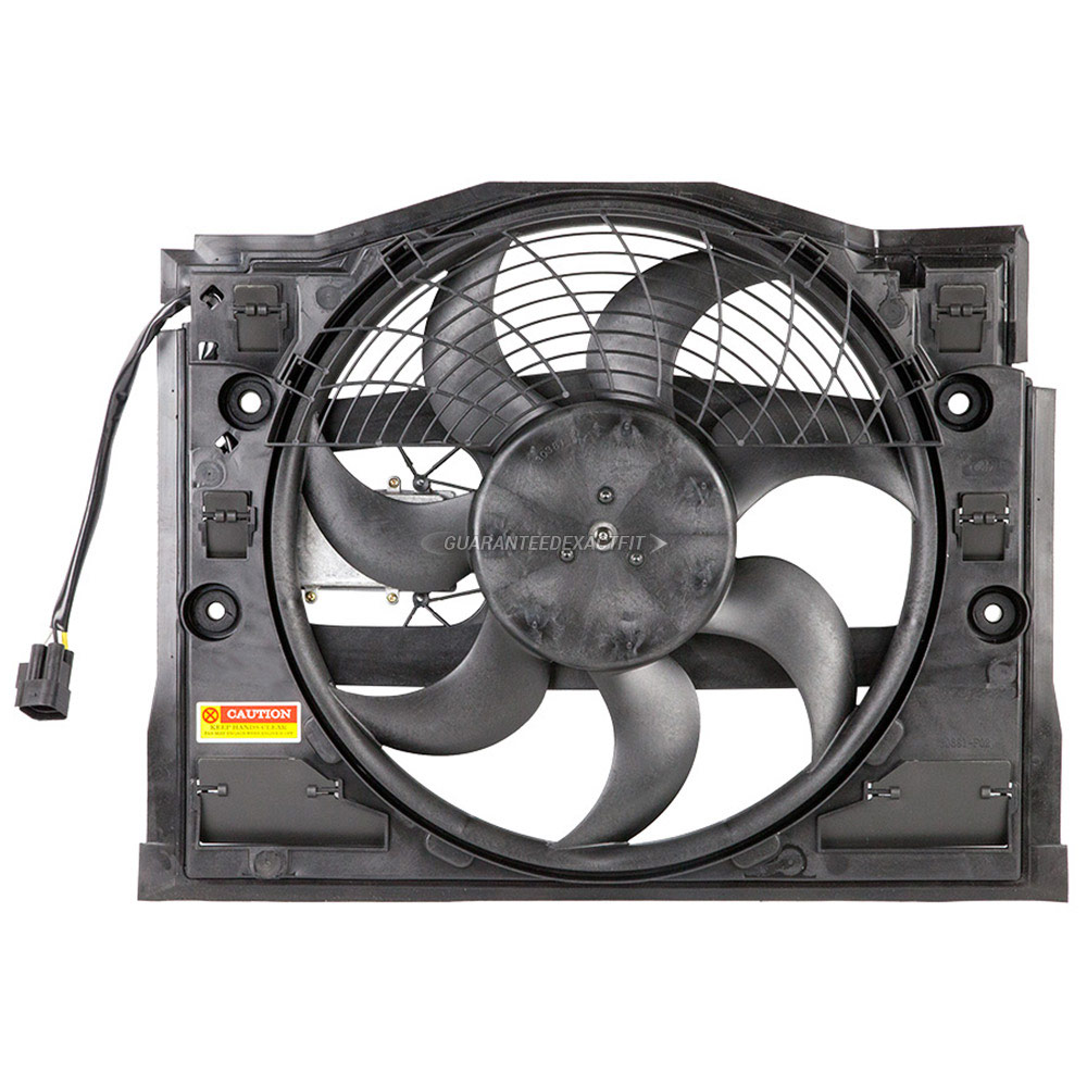 BMW 330 Cooling Fan Assembly