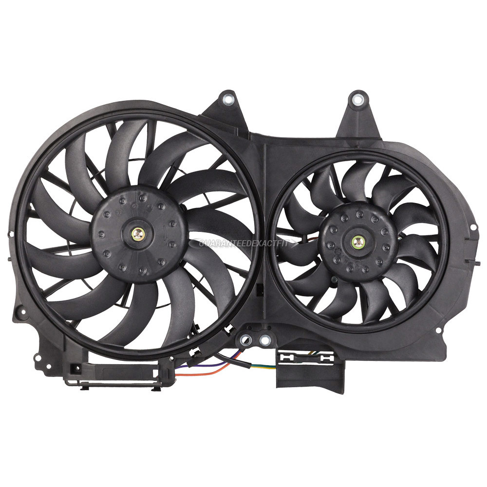 BuyAutoParts 19-20990AN Cooling Fan Assembly