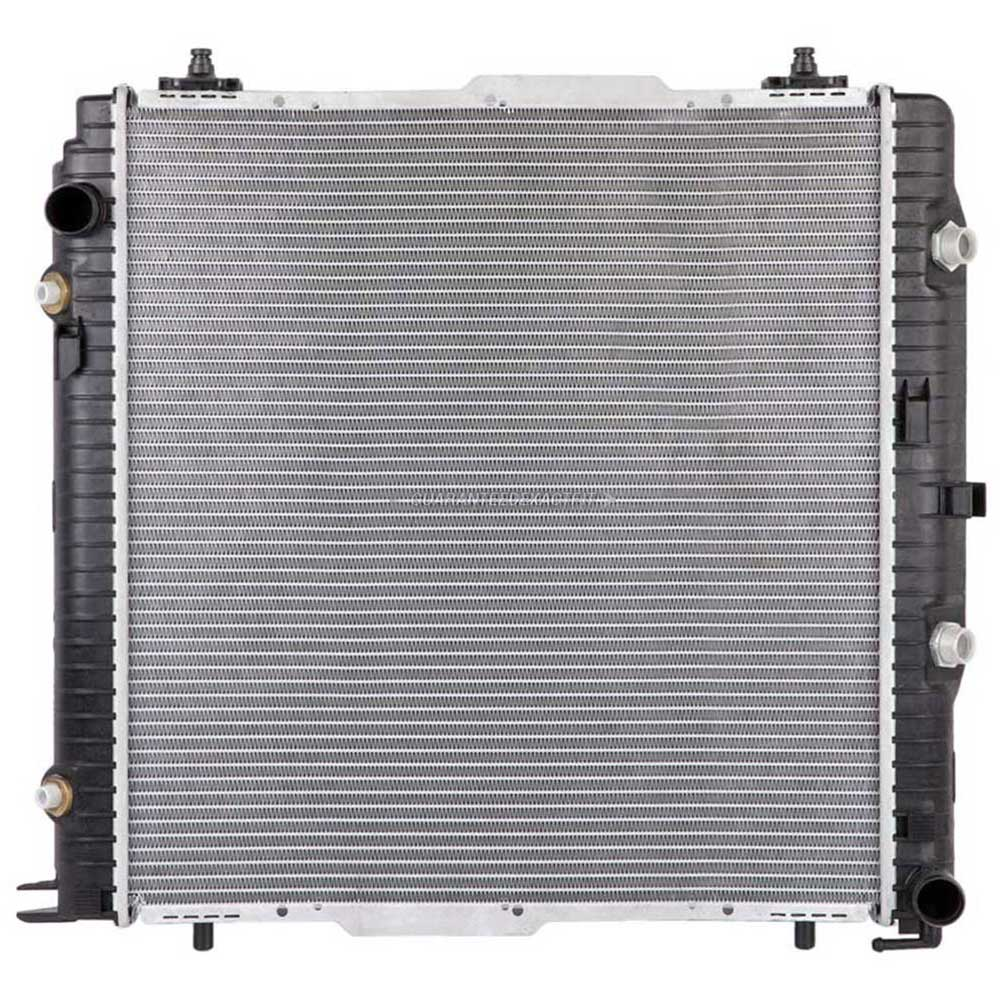2008 mercedes benz g500 radiator all models 19 01580 on for Mercedes benz radiator