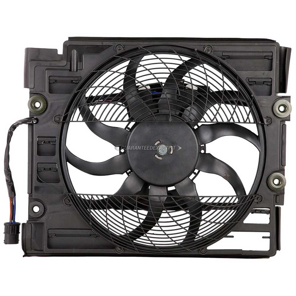 BMW 540 Cooling Fan Assembly