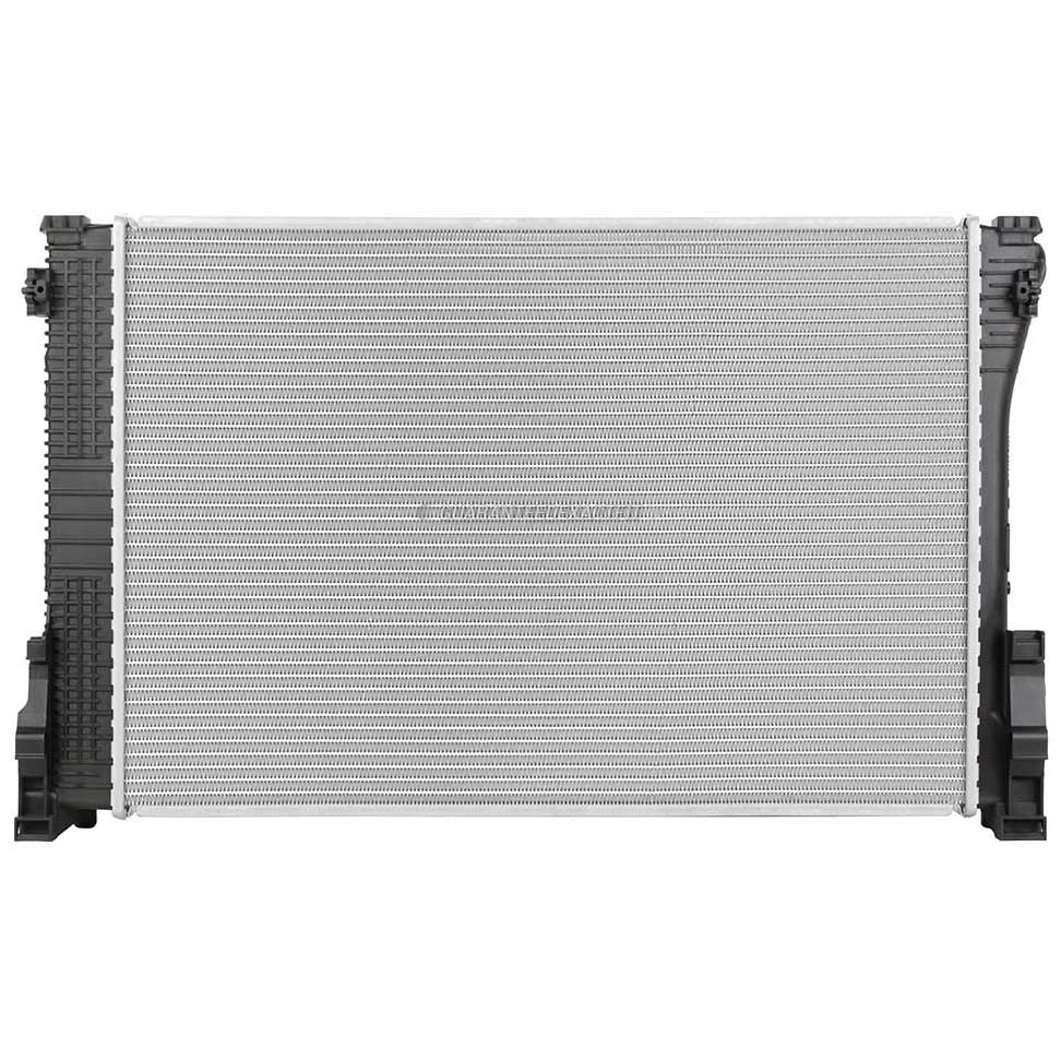 2010 Mercedes Benz C350 Radiator Models Without Pzev