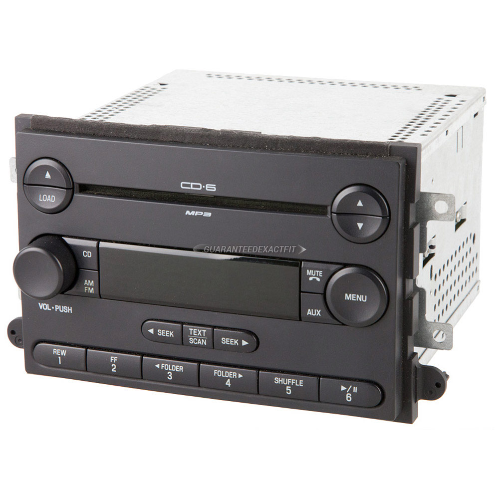 2006 ford fusion radio or cd player radio am fm 6cd mp3. Black Bedroom Furniture Sets. Home Design Ideas