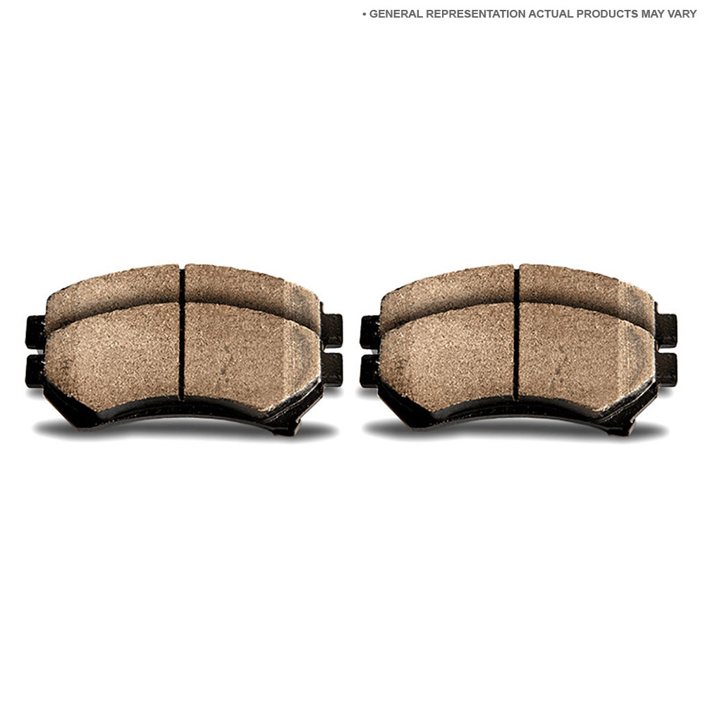 Mercedes_Benz 450SEL Brake Pad Set