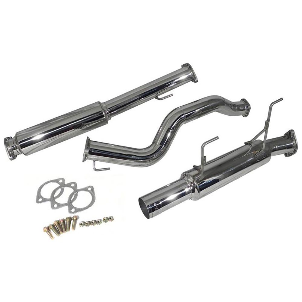 Nissan Juke Cat Back Performance Exhaust