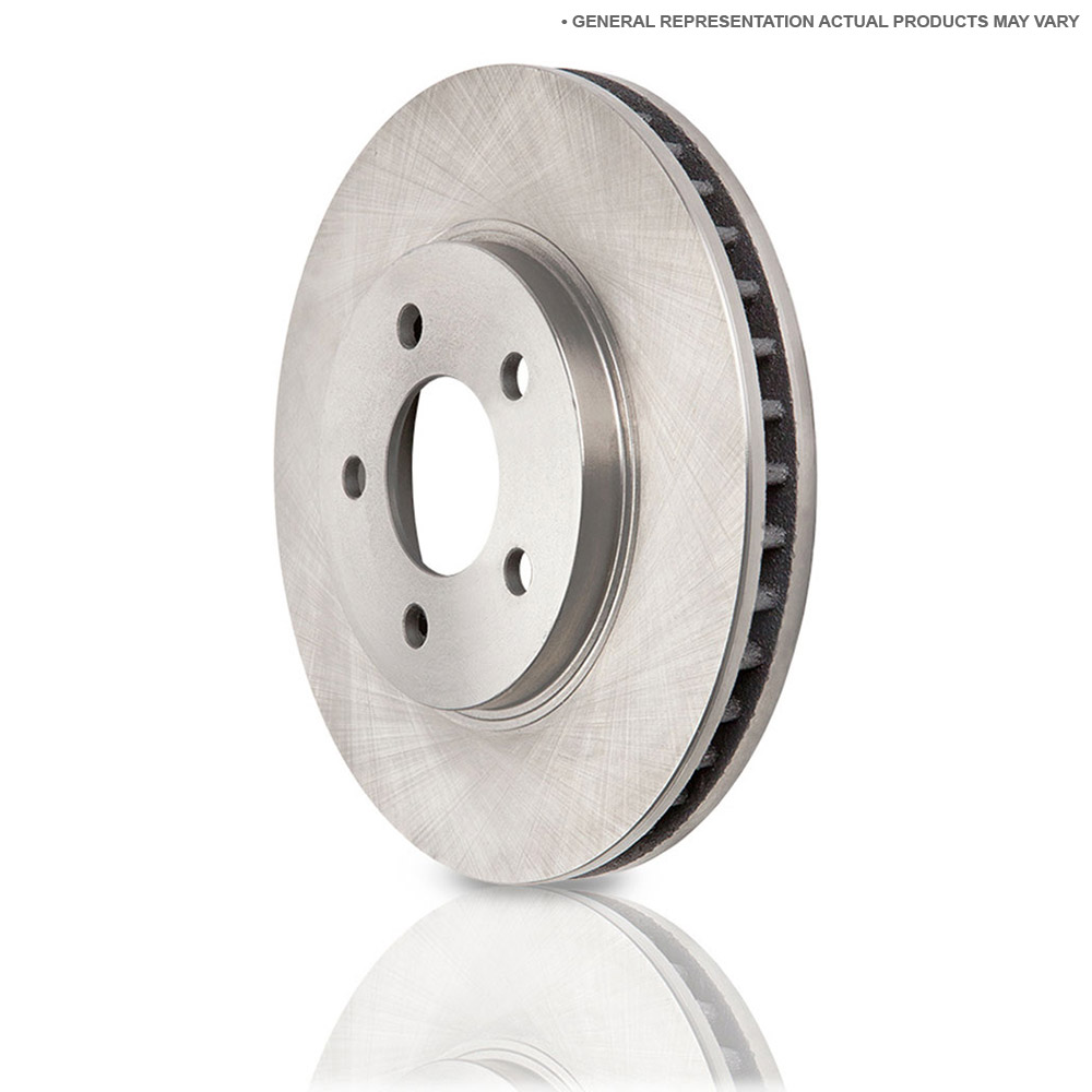 Mercedes_Benz 600SL Brake Disc Rotor