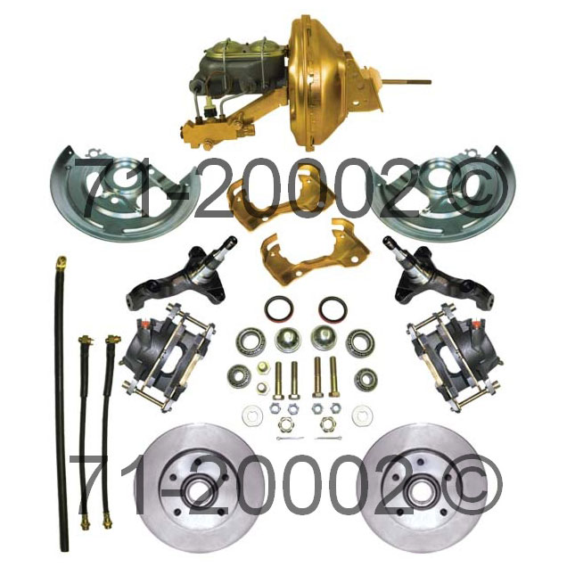 Chevrolet  Disc Brake Conversion Kit