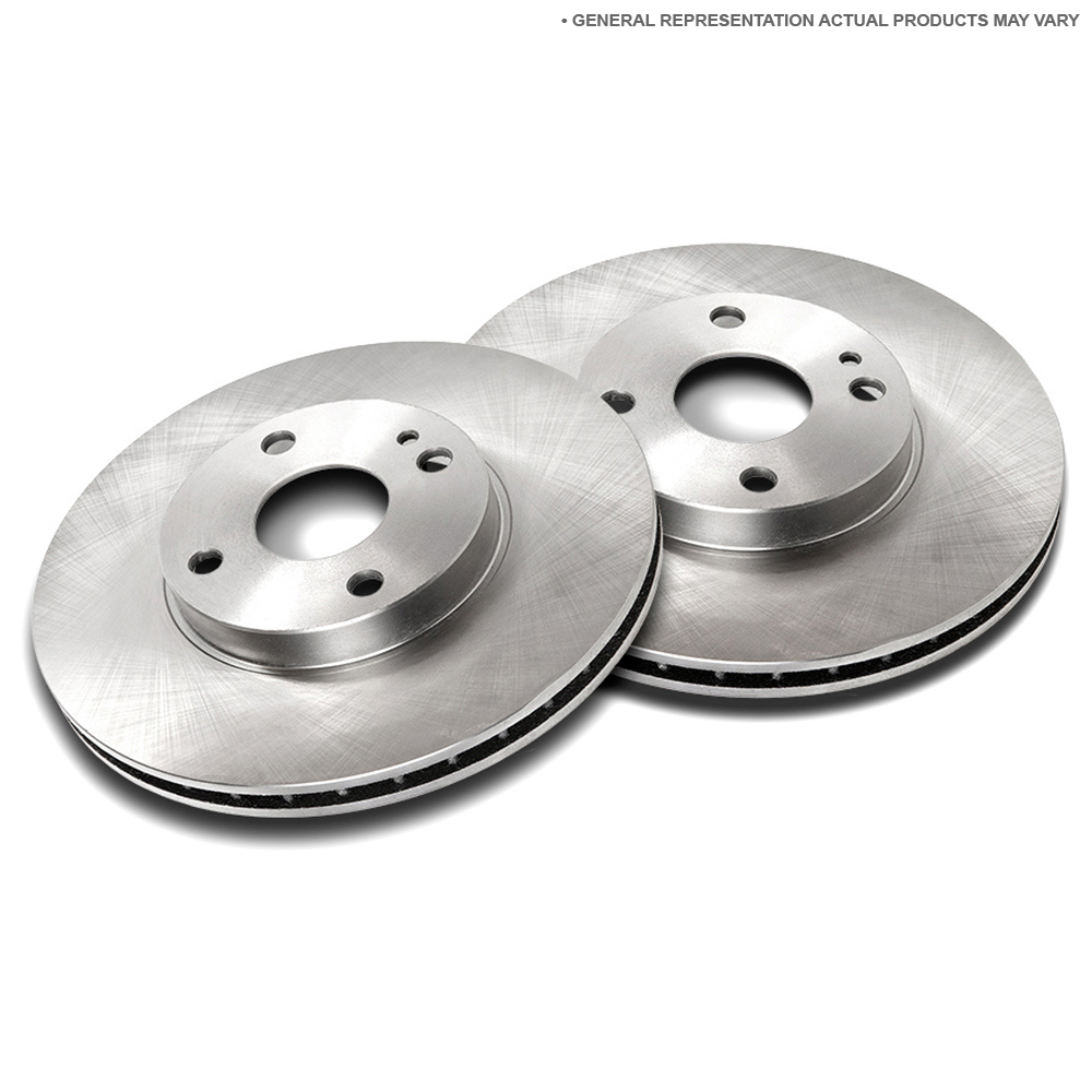 Mercedes Benz 400SEL Brake Disc Rotor Set