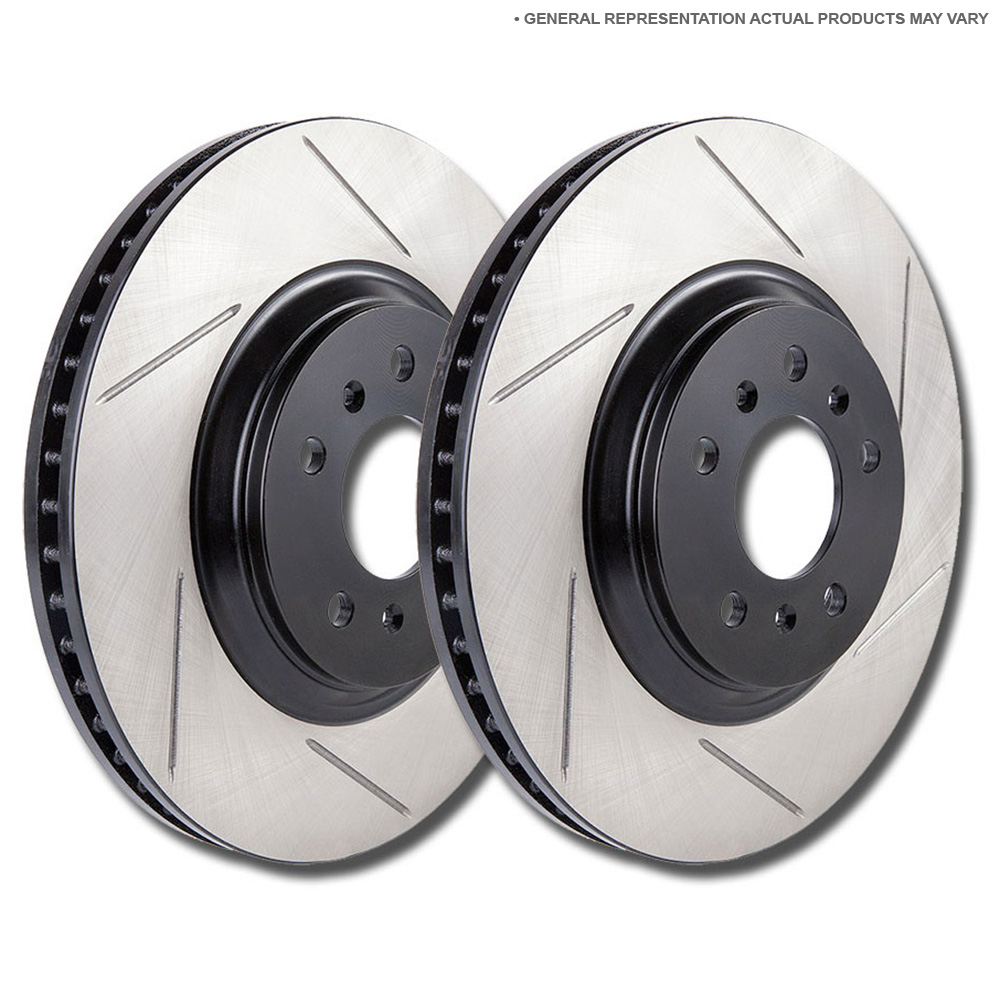 Audi Coupe Brake Disc Rotor Set