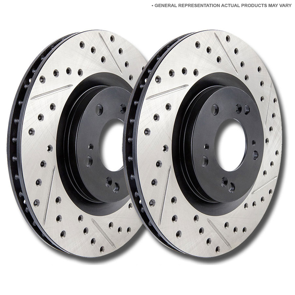 Chrysler Fifth Avenue Brake Disc Rotor Set