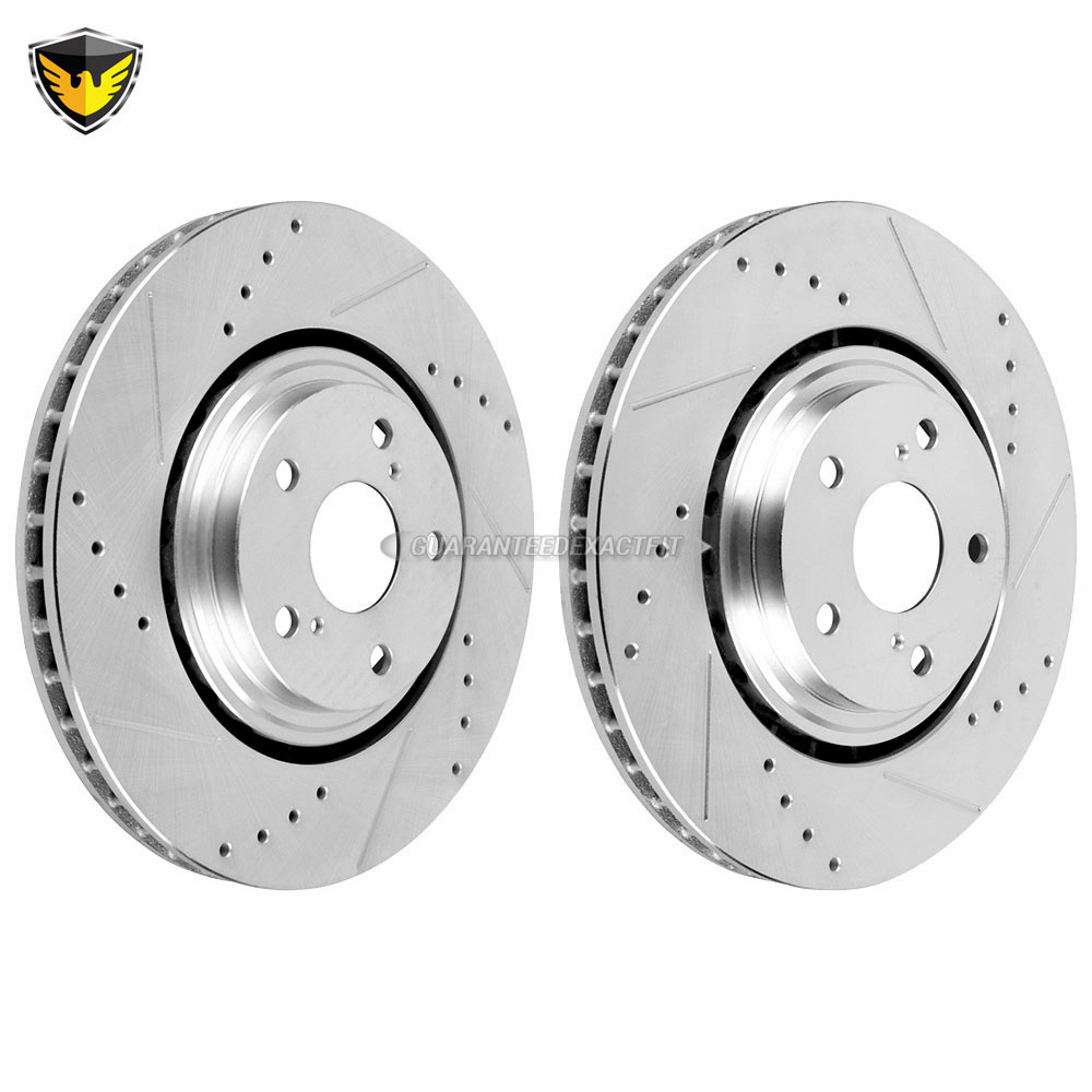 Lexus NX300h Brake Rotor Set