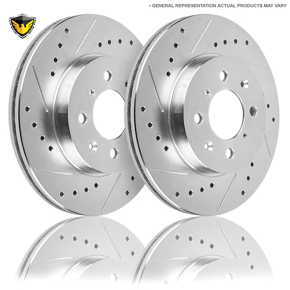 Hyundai Sonata Brake Rotor Set