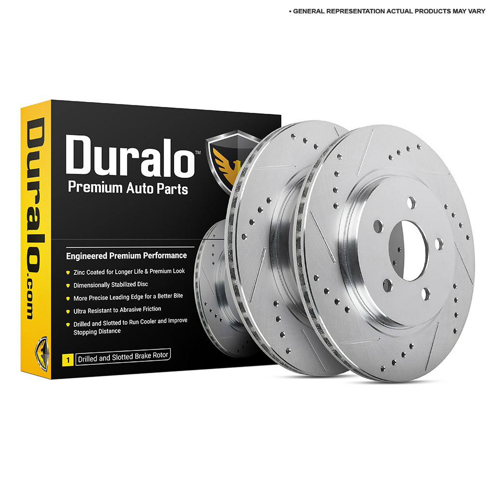 Acura Integra Brake Rotor Set