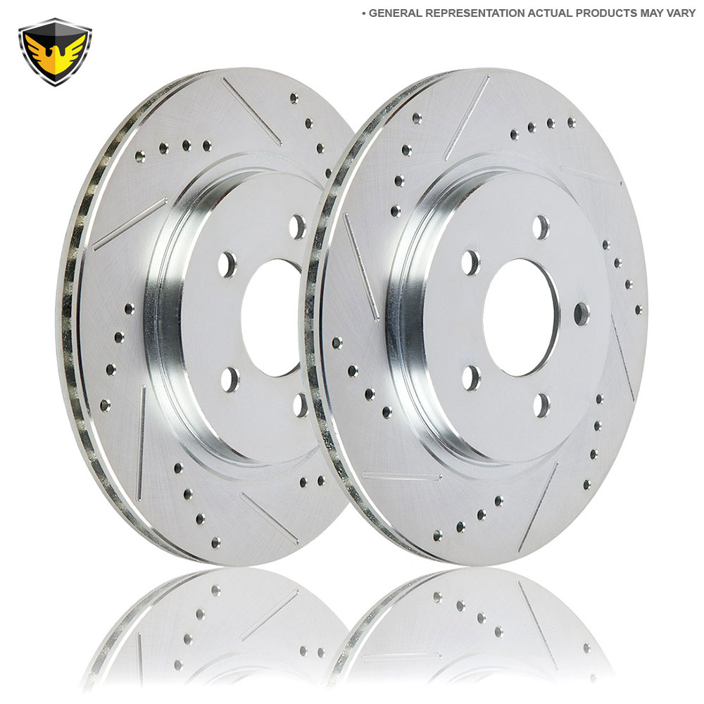 Mercedes Benz S350 Brake Rotor Set