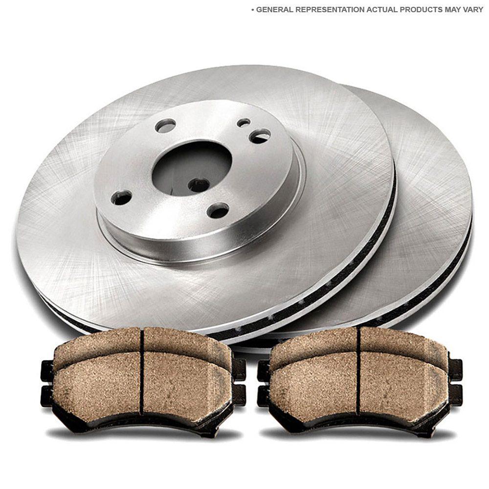 2011 nissan sentra brake pads and rotors