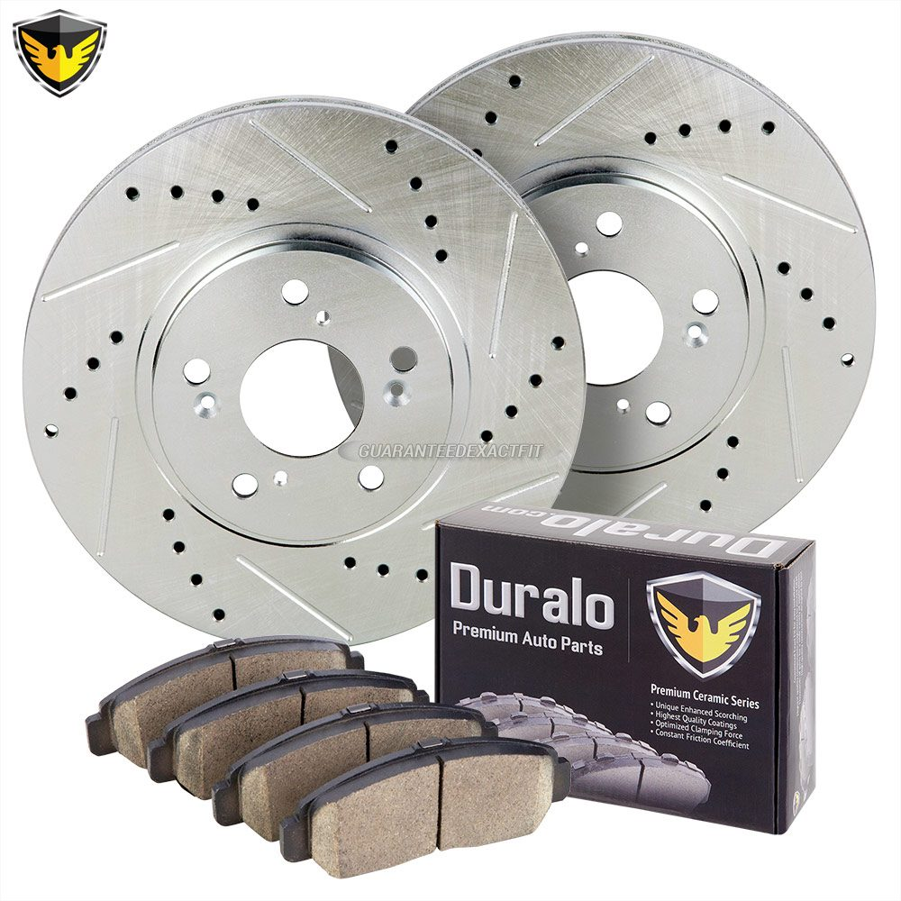 2006 Acura TL Brake Pad And Rotor Kit With Non-Brembo