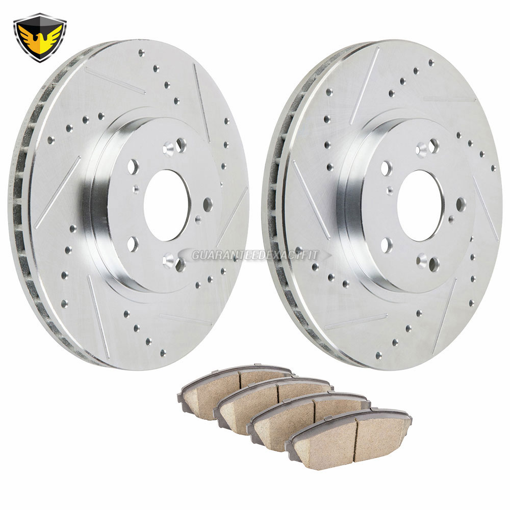 Acura MDX Brake Pad and Rotor Kit