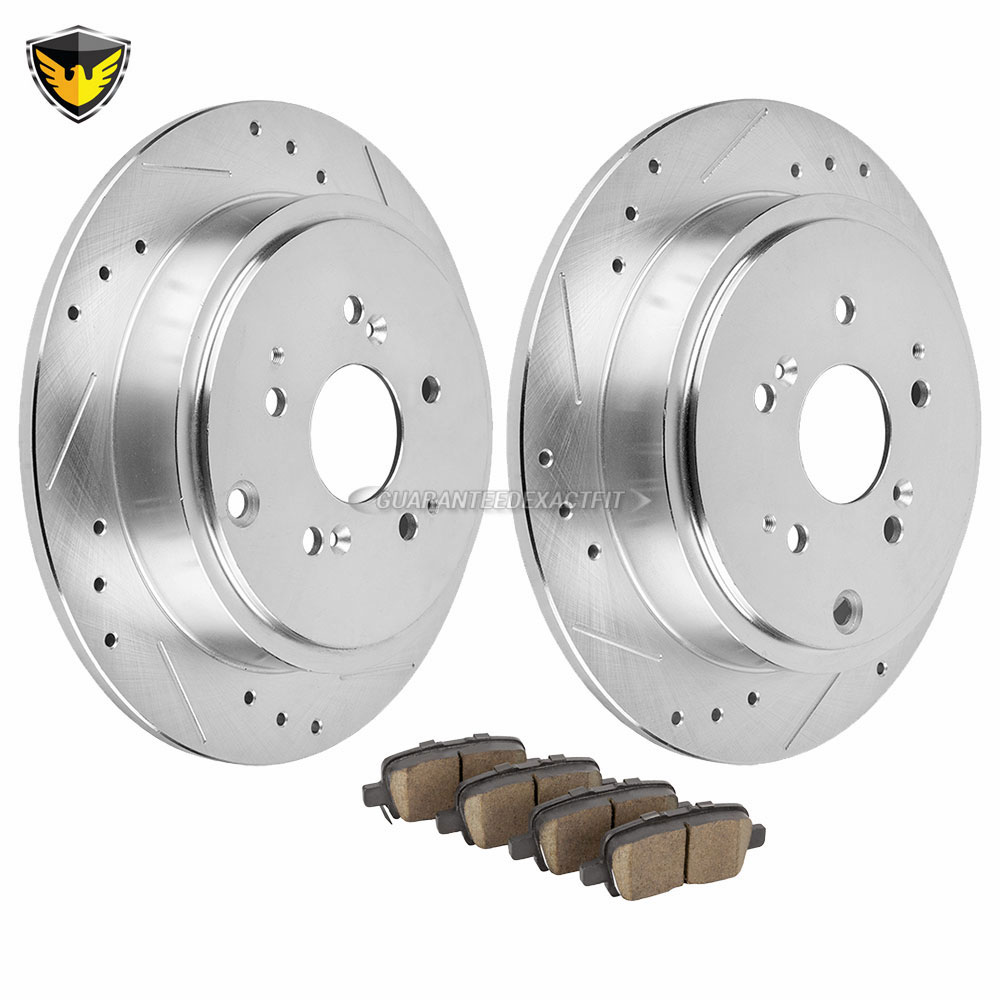 Acura Mdx 2010 For Sale: Acura MDX Brake Pad And Rotor Kit