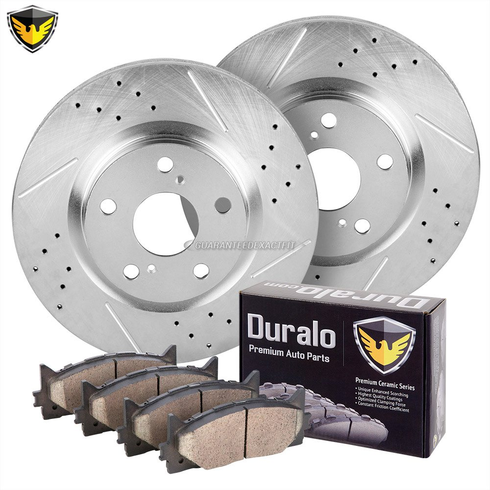 Lexus ES350 Brake Pad and Rotor Kit