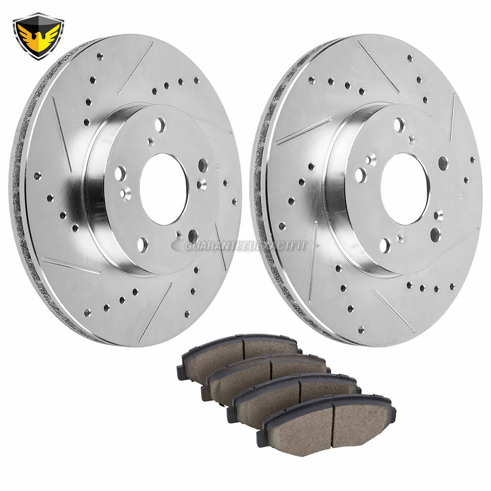 Acura ILX Brake Pad and Rotor Kit