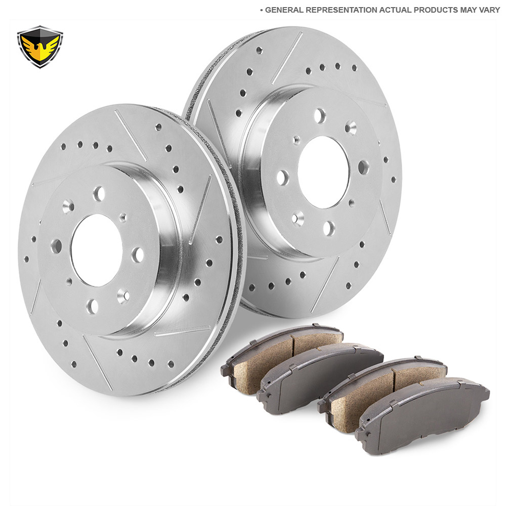 Kia Rio5 Brake Pad and Rotor Kit