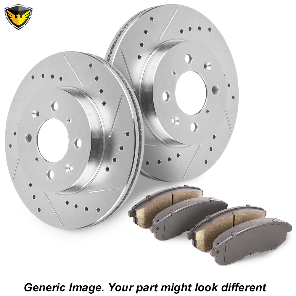 Acura Legend Brake Pad and Rotor Kit