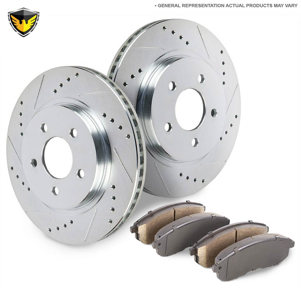 BMW 330i Brake Pad and Rotor Kit
