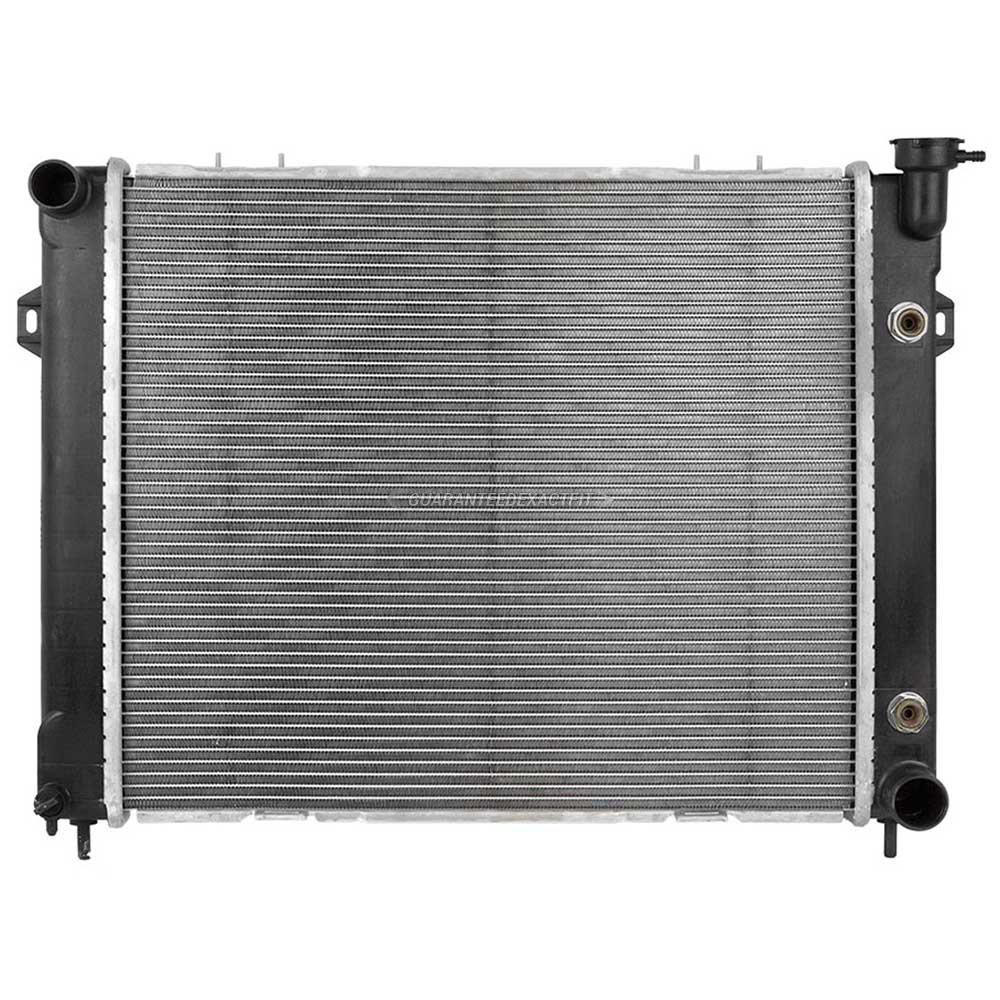 1997 jeep grand cherokee radiator 5 2l engine 19 00278 on. Black Bedroom Furniture Sets. Home Design Ideas