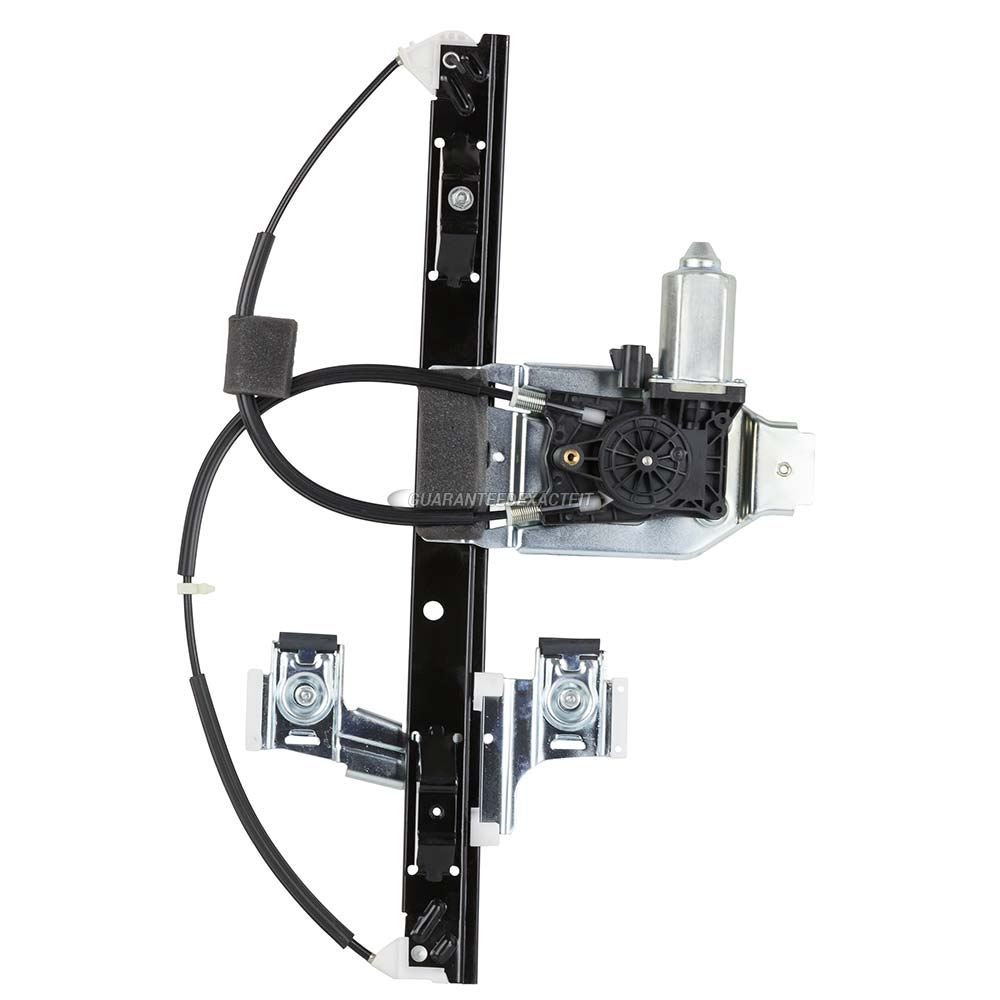 Chevrolet Trailblazer Window Regulator with Motor
