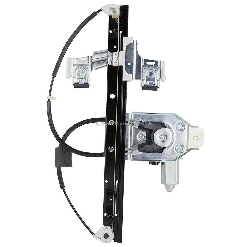 2002 chevrolet trailblazer window regulator with motor