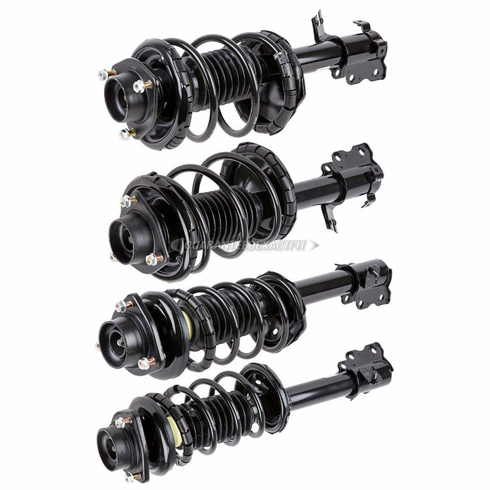 2000 Nissan Altima Suspension: 2000 Nissan Altima Shock And Strut Set Front And Rear Set