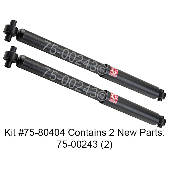 Isuzu Ascender Shock and Strut Set