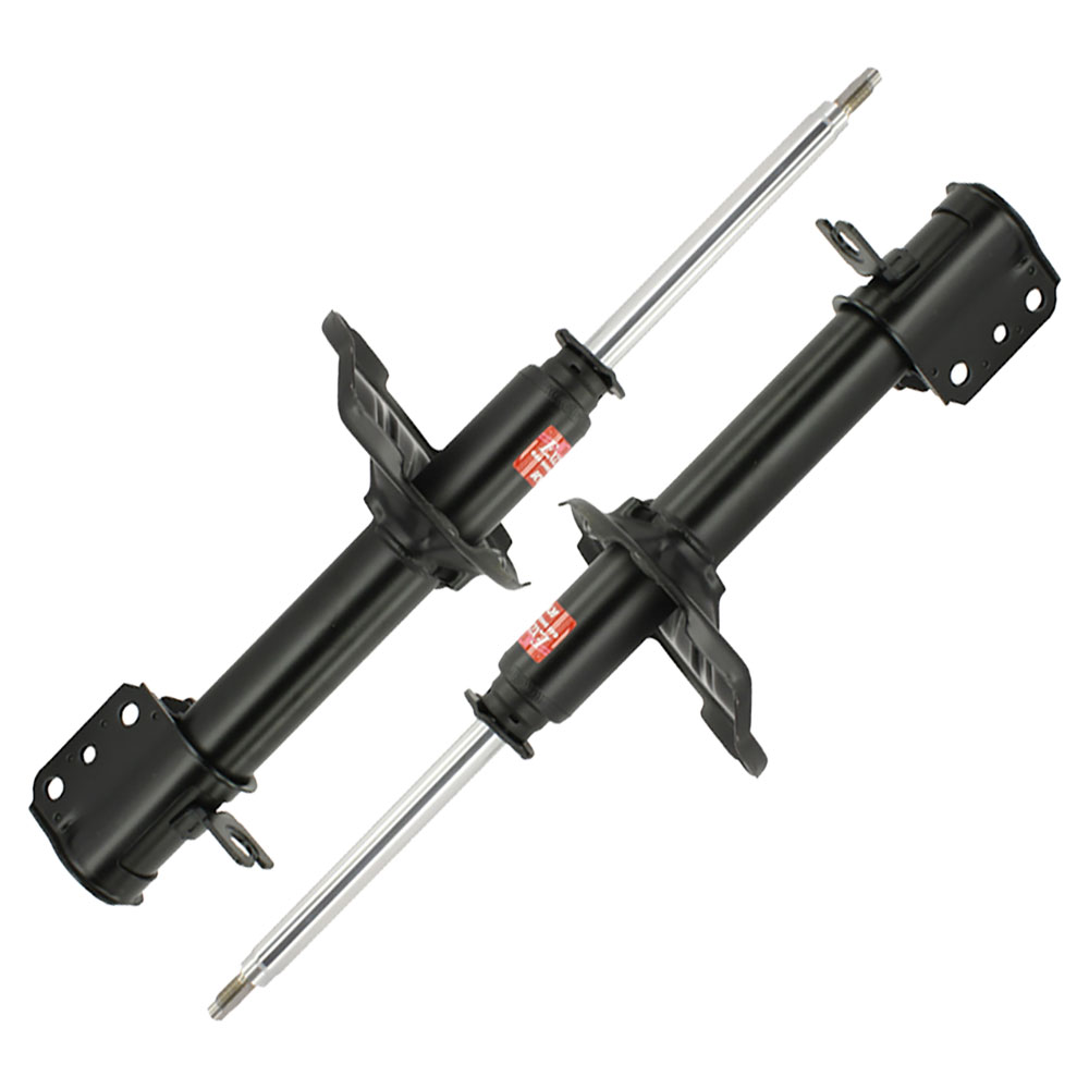 1992 Ford Probe Shock And Strut Set Without Electronically