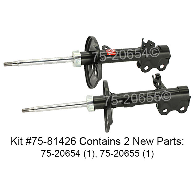 Toyota Prius Shock and Strut Set