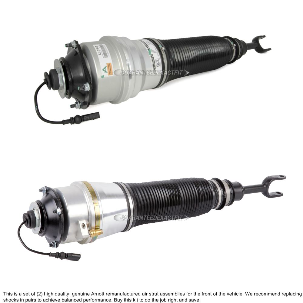 2006 Audi A8 Shock And Strut Set With Air Suspension