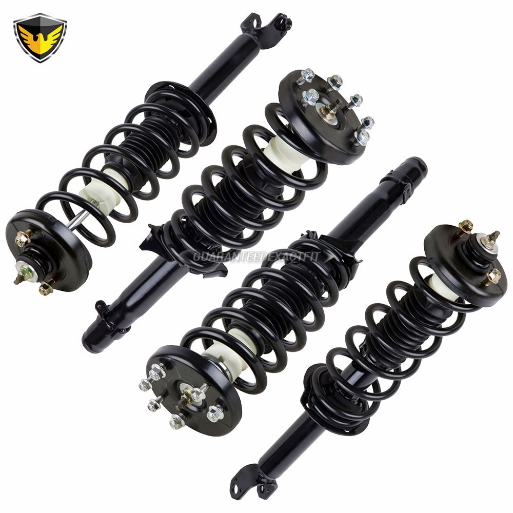 2012 Acura TSX Shock And Strut Set Front And Rear