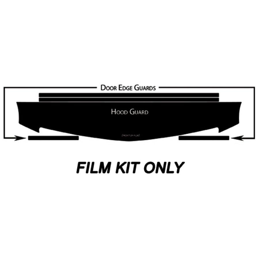 2007 cadillac srx vinyl protection film hood  u0026 door edge