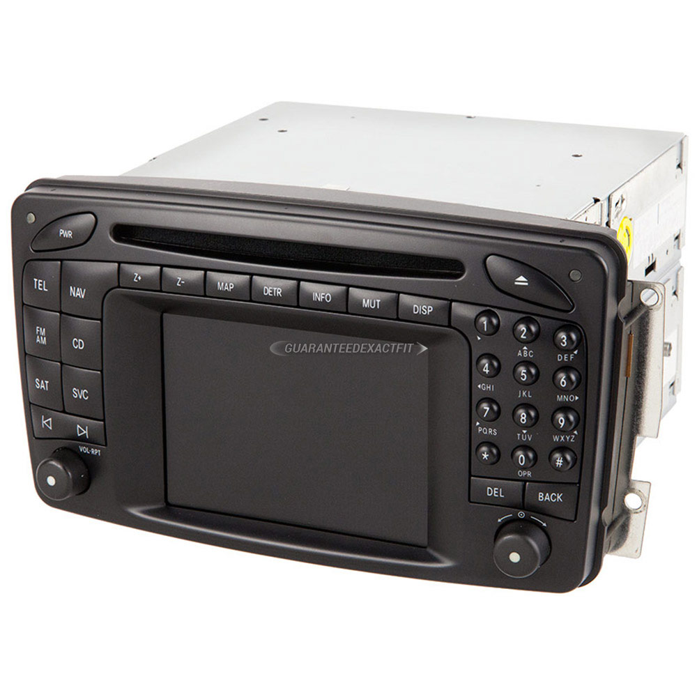 2004 mercedes benz c240 navigation unit in dash navigation for Mercedes benz satellite radio