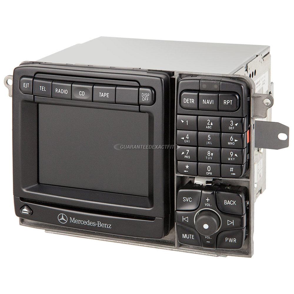 2000 mercedes benz s500 navigation unit navigation command for Mercedes benz navigation cd