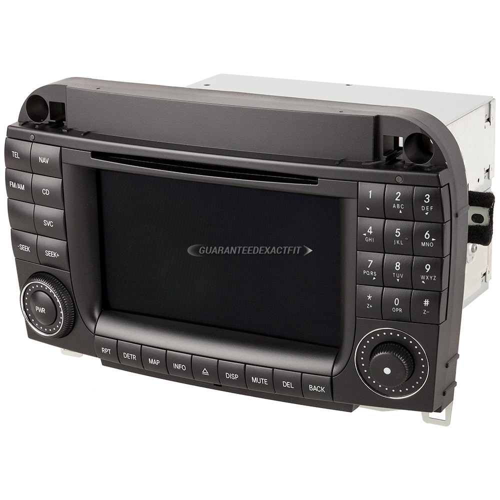 2004 mercedes benz s500 navigation unit in dash am fm for Mercedes benz navigation cd
