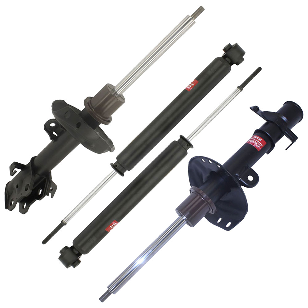 2008 Acura RDX Shock And Strut Set Front And Rear