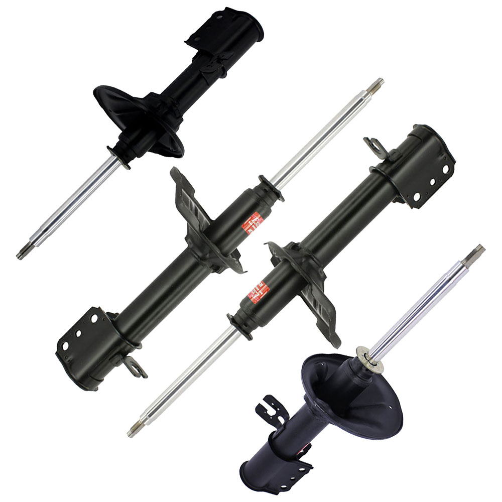 Toyota Celica 1990 1992 Excel G Shock Absorbers: 1990 Mazda 626 Shock And Strut Set Exc. 4WS And Adjustable
