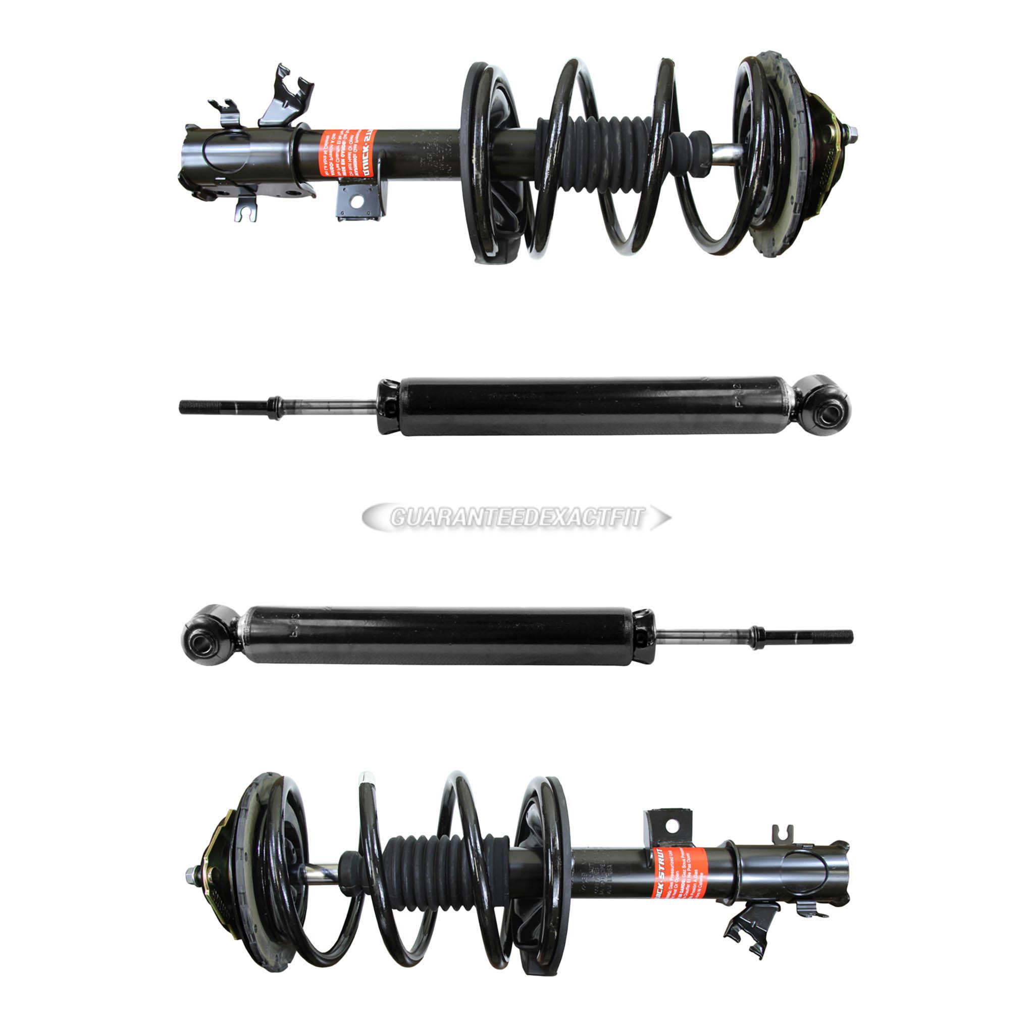 struts 2003-08 INFINITI FX35 KYB KIT 4 FRONT /& REAR shocks